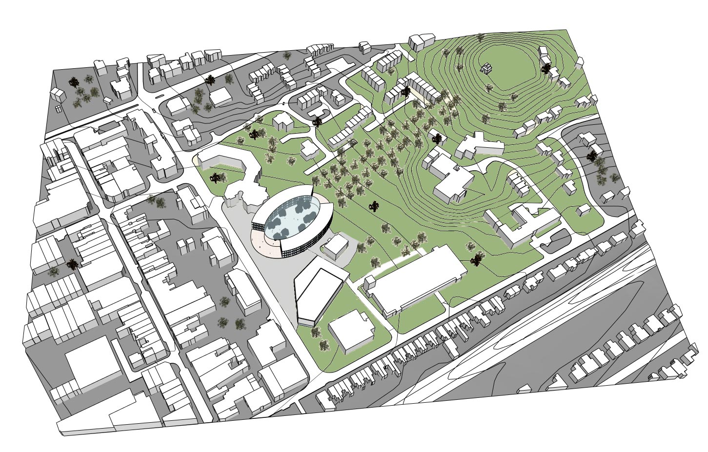 Camberley Cultural Quarter Masterplan - Overview
