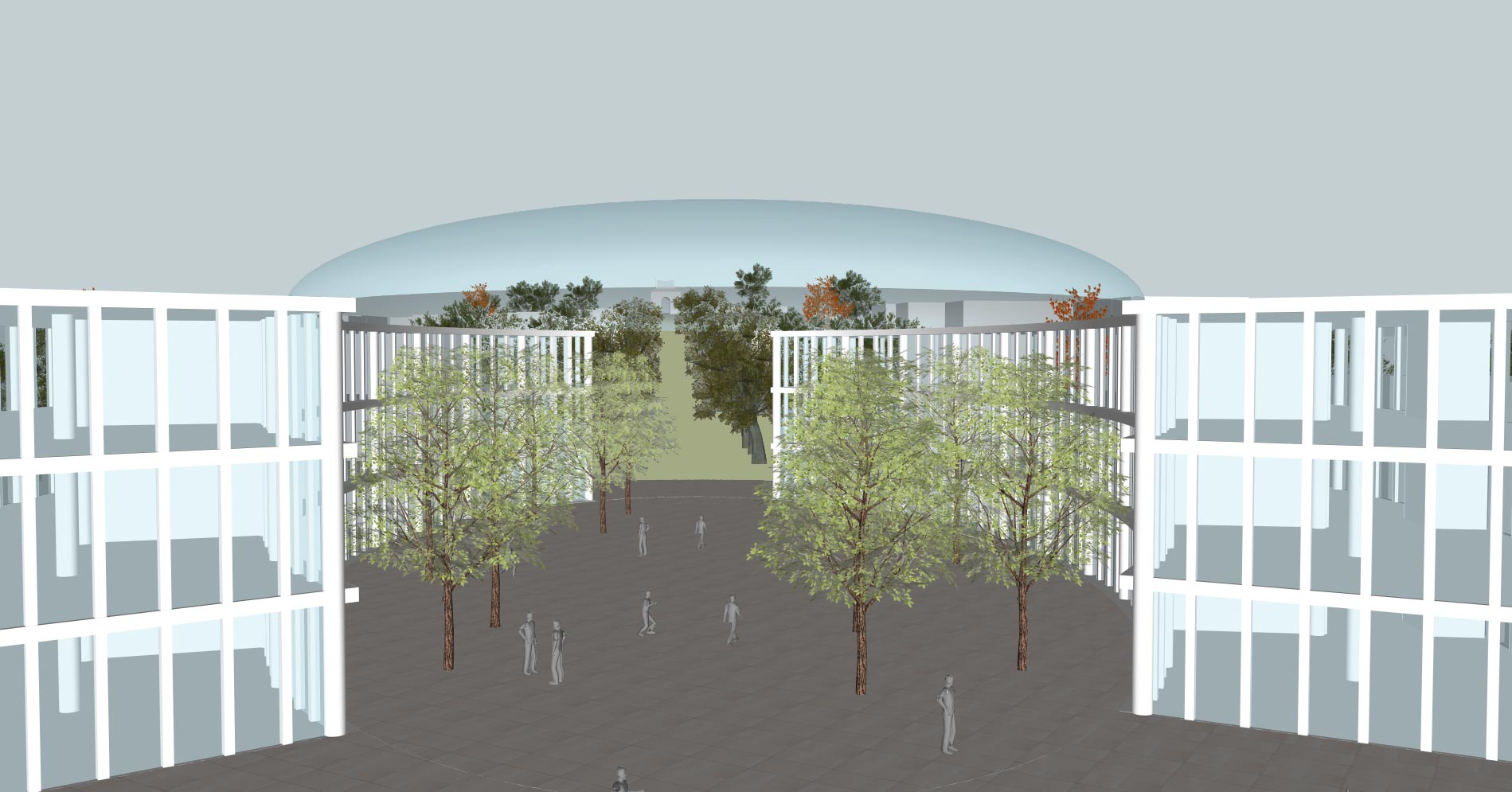 Camberley Cultural Quarter Masterplan - Front view