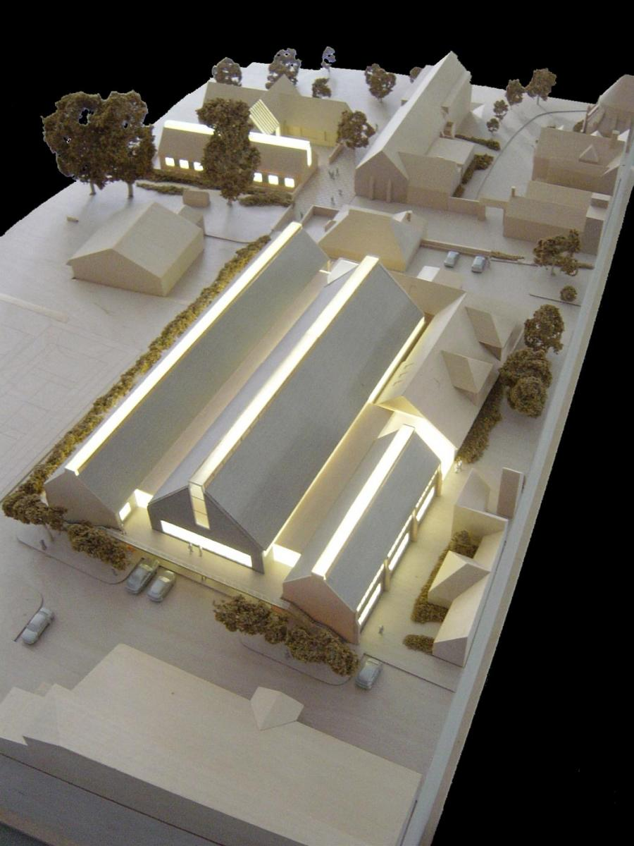 Cranleigh School, Cranleigh, Surrey - Architectural Model