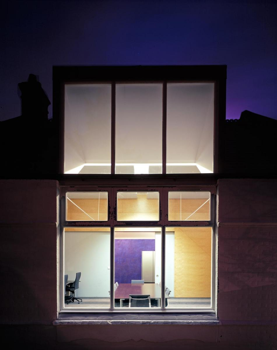 Eyre Estate Office, Woronzow Road, London - Exterior Night View