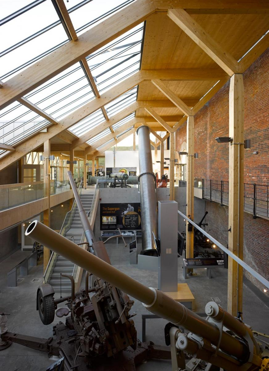 Fort Nelson, Portsmouth, Hampshire - Main exhibition hall