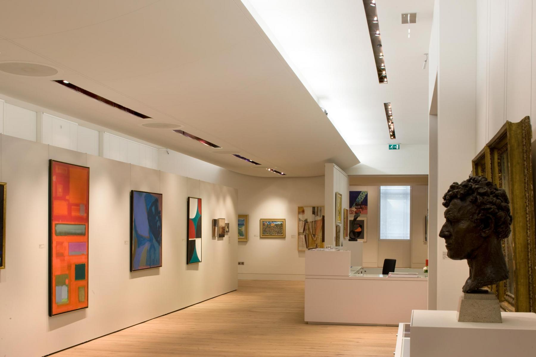 Leeds University Art Gallery, Leeds - Interior view