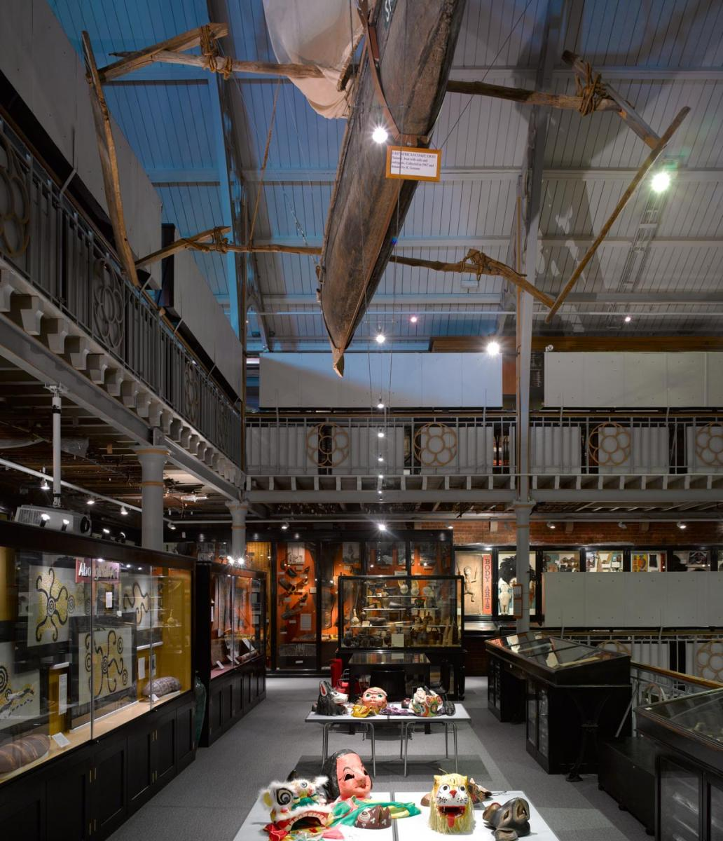 Pitt Rivers Museum Main Entrance and Refurbishment - Interior view