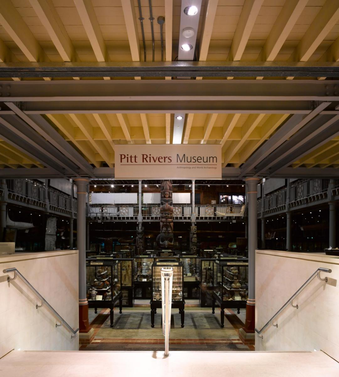 Pitt Rivers Museum Main Entrance and Refurbishment - Stair view