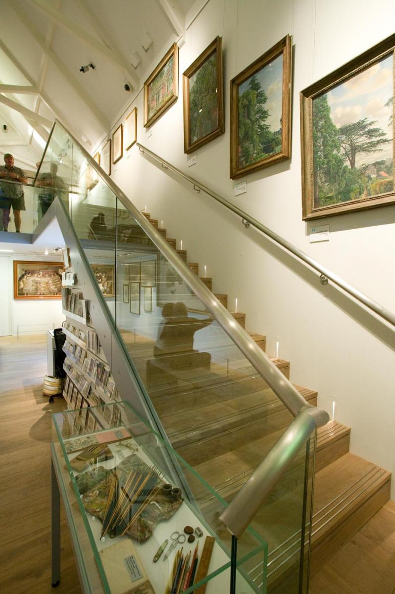 Stanley Spencer  Gallery, Cookham - Stair to mezzanine