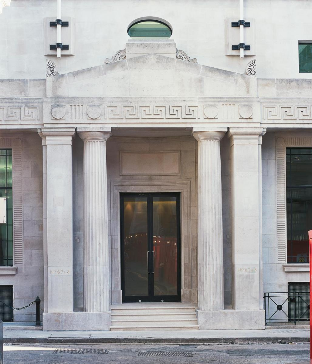 Tokenhouse Yard, City of London - Entrance exterior