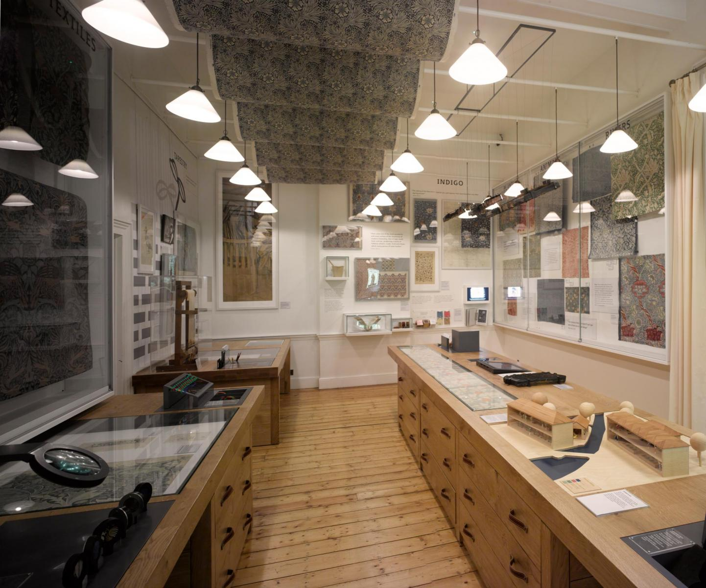 William Morris Gallery, Walthamstow, London - Workshop Gallery
