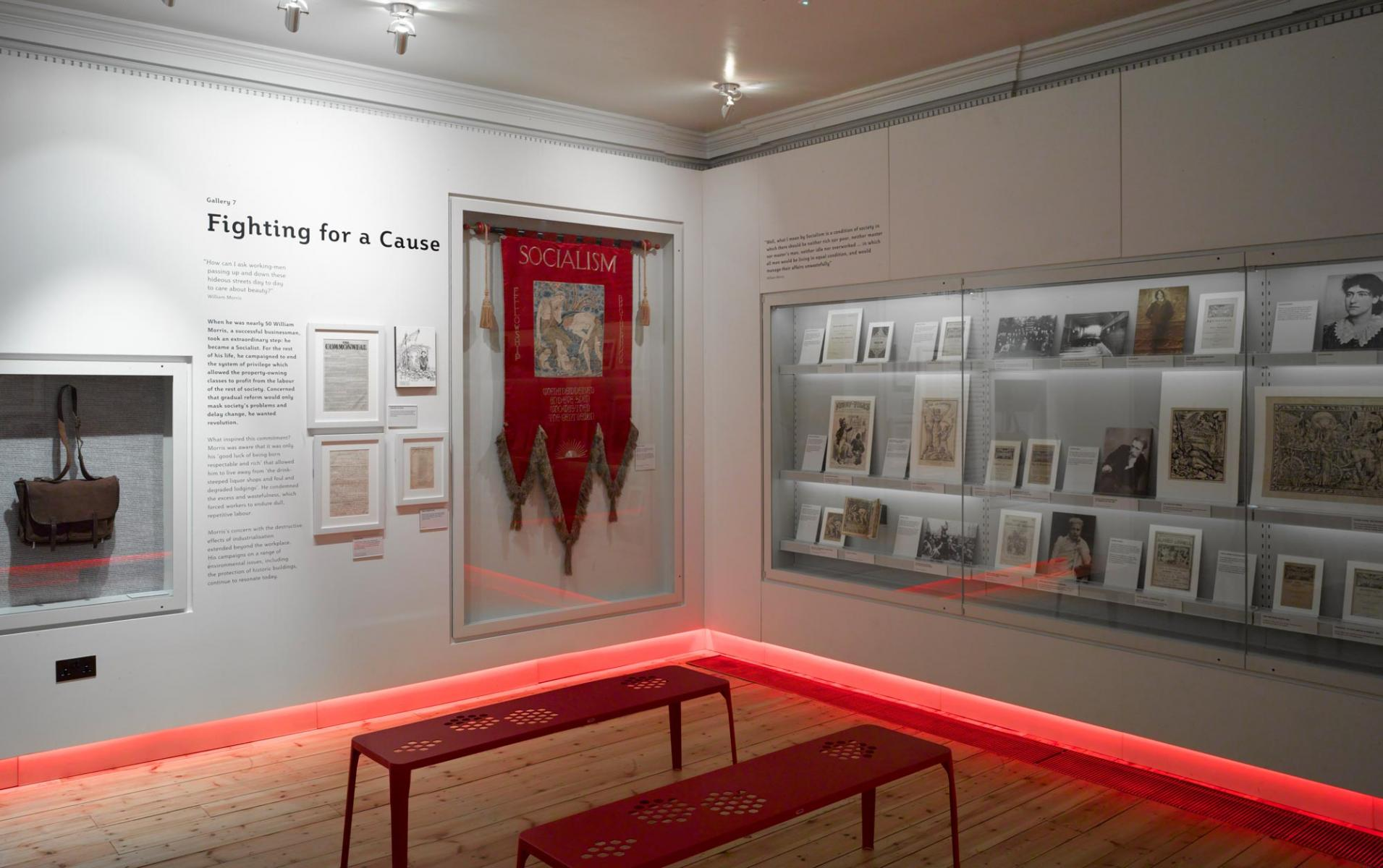 William Morris Gallery, Walthamstow, London - Fighting for a Cause