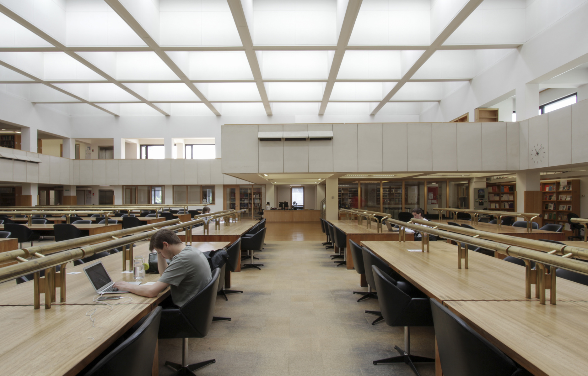 St Cross Building, Bodleian Law Library, Pringle Richards Sharratt Architects