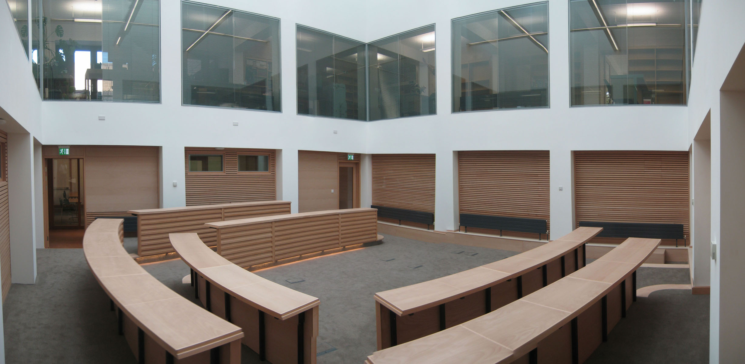 St Cross Building, Moot Hall, Pringle Richards Sharratt Architects