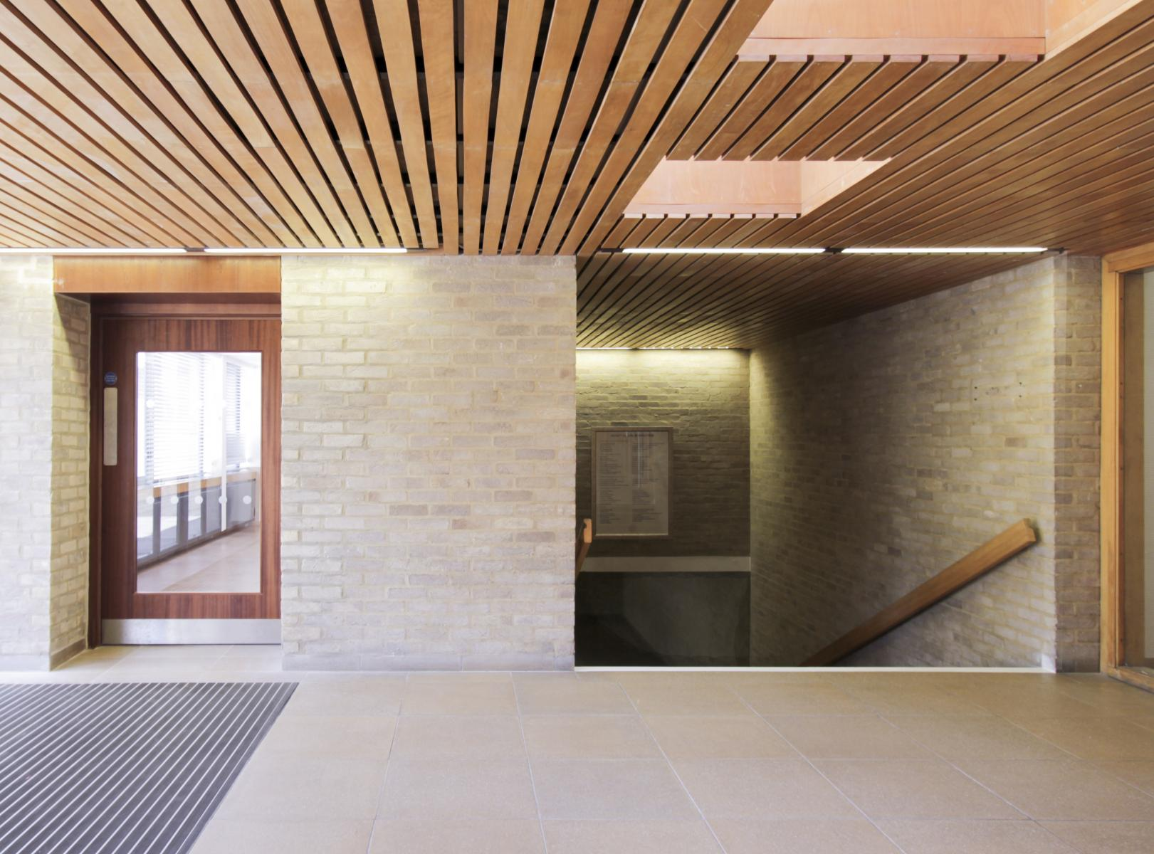 St Cross Building, Oxford, Pringle Richards Sharratt Architects