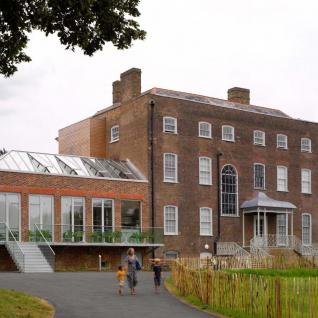 William Morris Gallery, Walthamstow, London - Rear Elevation