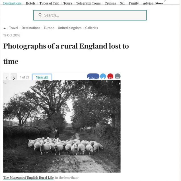 Photographs of a rural England lost to time
