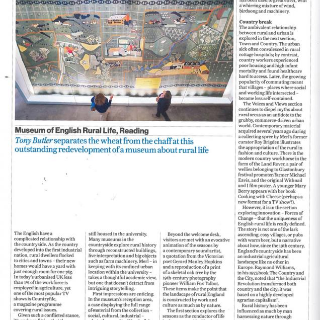 Museums Journal Review of MERL